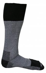Stay warm and cozy with these Merino wool socks with a special pocket for Heat Factory warmers.