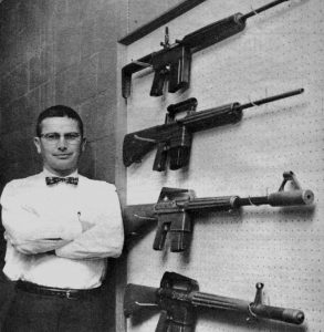 Eugene Stoner and the ArmaLite AR-10.