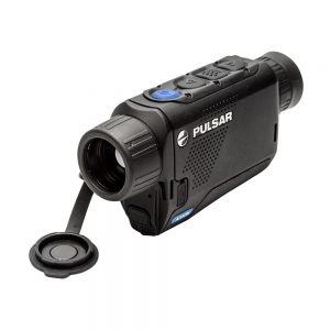 The Pulsar Axion thermal imaging monocular has the highest magnification of its class.