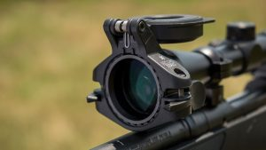 "The Second Zero is a prism-driven lens system which bends light at a precise MOA to provide you a ""second zero"" at ranges your scope isn't zeroed at."