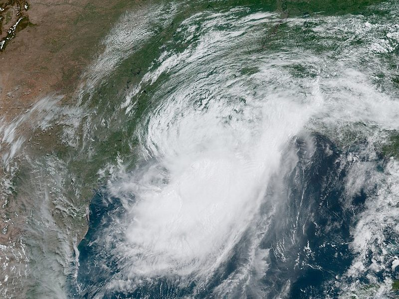 Hurricane Barry was the first hurricane of the 2019 Atlantic hurricane season. Barry made landfall in Louisiana on July 13.